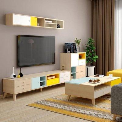 電視櫃組合墻現代簡約小戶型客廳家具套裝...
