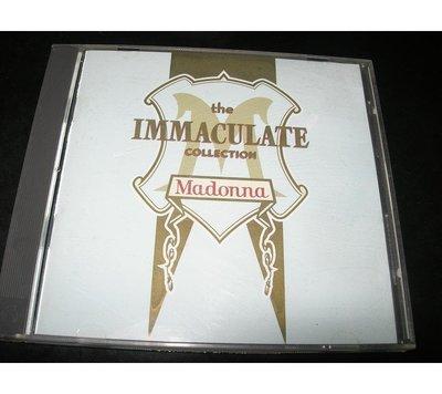 OK 瑪丹娜Madonna  - The Immaculate Collection不朽精典精選輯
