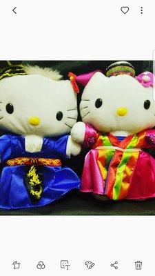 Hello kitty 麥當勞,第一代 1999年版,罕有限時出售,韓國版一对