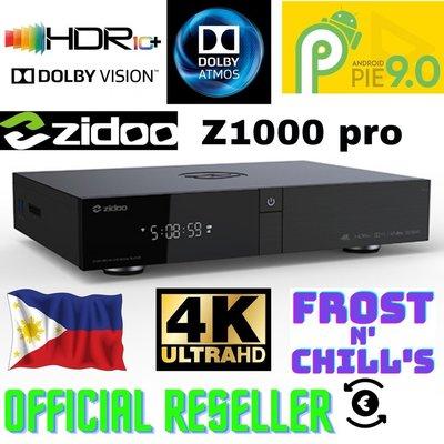 ZIDOO 芝杜 Z1000 PRO 4K UHD 多媒體影音播放機 全新公司貨~免運