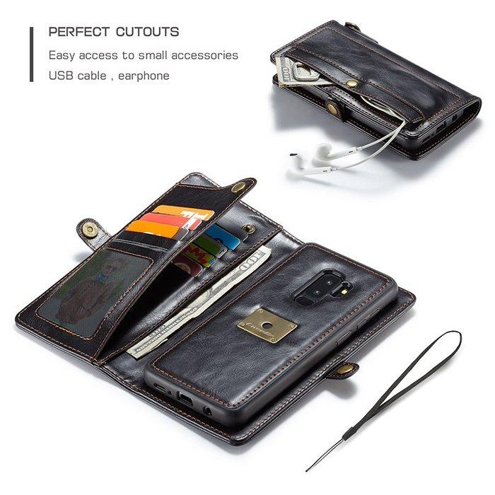 三星 S10 S10PLUS 手機殼 翻蓋皮套 插卡零錢包 帶掛繩 攝像頭寶 多功能錢包 防摔抗震 保護套 皮套