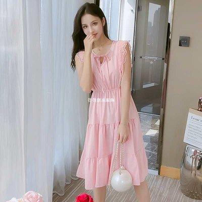 發發潮流服飾蛋糕裙子洋裝女2019夏裝...
