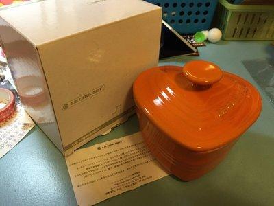 【陽陽小舖】全新@《LE CREUSET》愛心烤盅/心型烤盅(Tangerine)