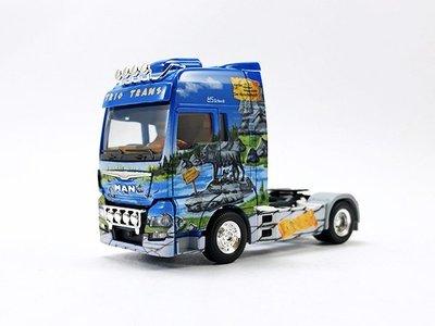 【秉田屋】現貨 Herpa MAN TGX XXL Euro 6 Rigid Tractor 卡車頭 彩繪版 1/87