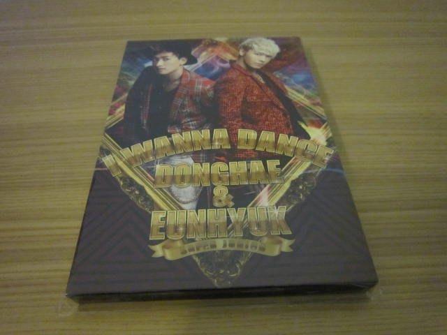 東海&銀赫 Super Junior【I Wanna Dance】CD+DVD (日本進口初回限定版) (日版)