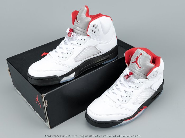 Air Jordan5 AJ5 流川楓白紅火花原色2020籃球鞋 運動鞋 男鞋增高鞋DA1911-102