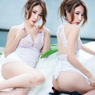 【BK-133】有加大尺碼☆嬌妻美背特殊造型設計性感睡衣☆HoneyMoon蜜月假期