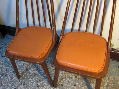 復古珍藏館                      北歐風格椅.2張