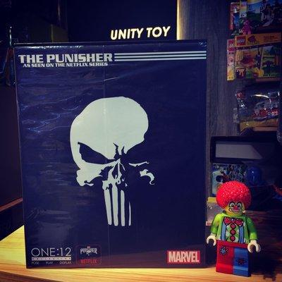 MEZCO TOYZ ONE:12 COLLECTIVE NETFLIX Punisher (Unity Toy)