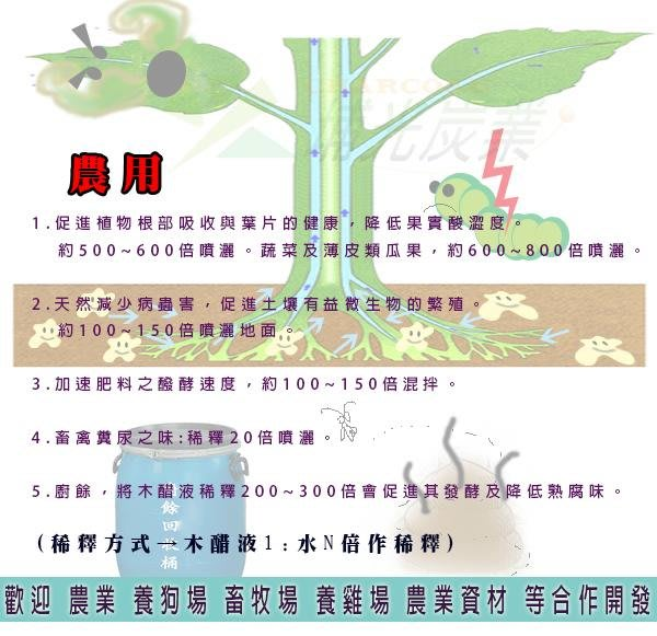 大樹 木酢液 屏東工廠直營 20公升 - 狗場 竹醋液 木醋液 除臭用 有機 農業