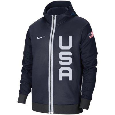 來吉美國代購✅  NIKE USA BASKETBALL 美國男籃2021奧運夢幻隊 球員版熱身練習外套