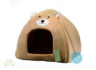 ω毛腸腸ω~免運~【京都花園『萌犬帳篷-駝色 』貓咪/小型犬睡窩 】