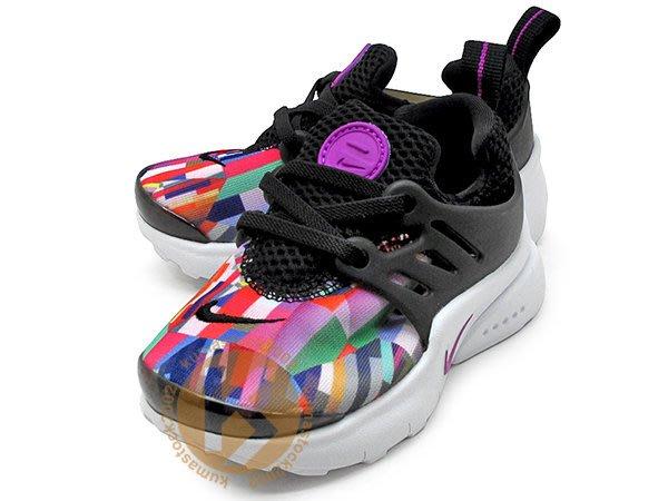 2016 台灣未發售 NIKE LITTLE PRESTO TD BT 幼童鞋 BABY 黑彩虹 859601-001