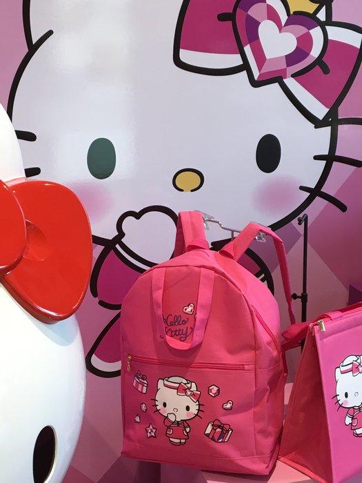 Hello kitty 2016年SOGO周年慶來店禮璀璨花漾後背包 甜美桃粉色