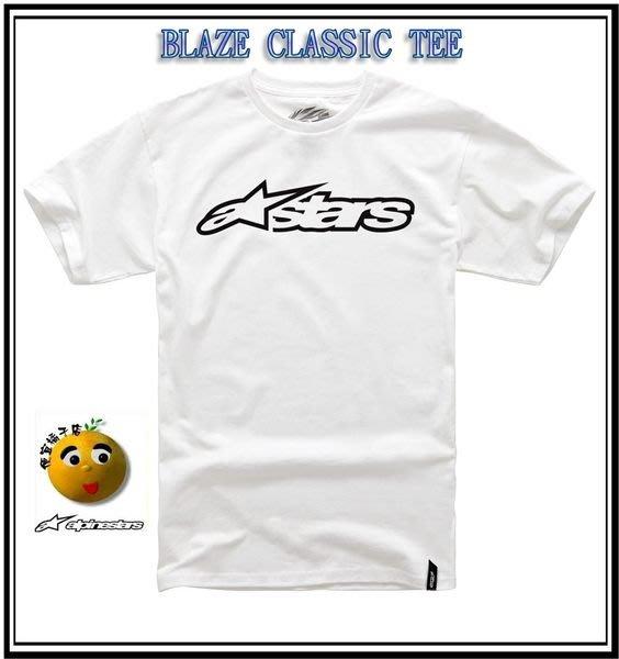 ALPINESTARS 綿T恤 LUMOS /BLAZE CLASSIC TEE 100%綿T@便宜橘子店@