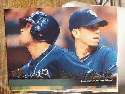 (記得小舖)MLB 2010 坦帕灣光芒隊卡 普卡1張