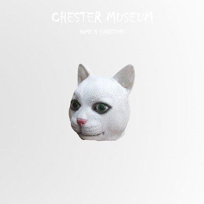【現貨】貓 貓面具 貓頭套 貓 面具 貓 頭套 面具 頭套 萬聖節 派對 舞會 變裝派對 婚禮小物 賈斯特博物館