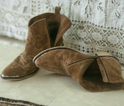 Spell & The Gypsy Collective CACTUS ROSE BOOTS Brown 西部靴 牛仔靴