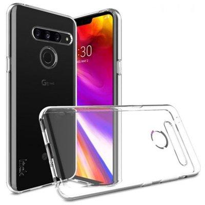 伊諾○☼☋LG G8s ThinQ手機殼 G8s手機套 g8s手機防摔透明布丁保護軟殼【快速出貨】