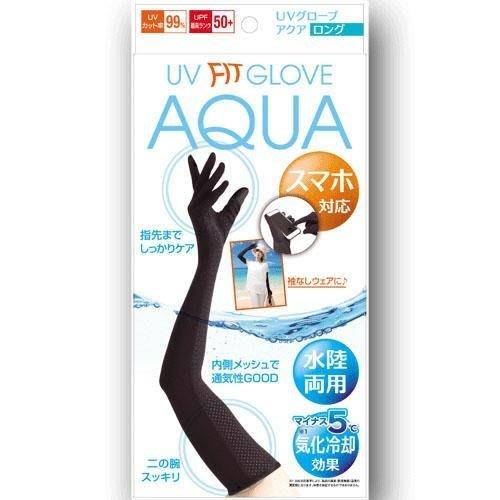 【東京速購】AQUA UV 水陸兩用 涼感防曬 手套(58公分)