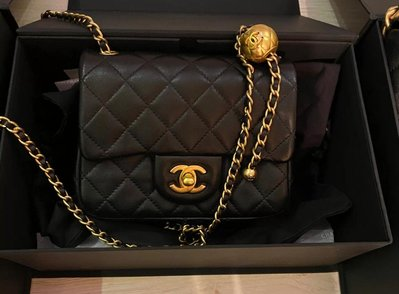 Findyourstyle 正品代購 Chanel 方胖金球