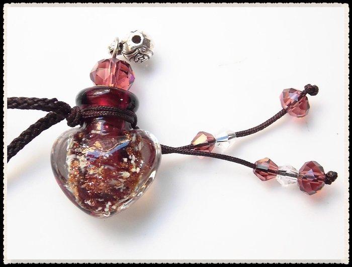 【雅之賞 藏傳 佛教文物】特賣* 琉璃瓶 /香水瓶 /舍利瓶 吊飾~111204