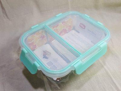 全新品 全隔斷 玻璃保鮮盒 飯盒便當盒