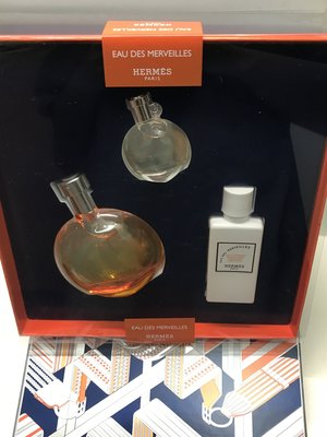 Hermes Eau des Merveilles perfume 50ML香水SET
