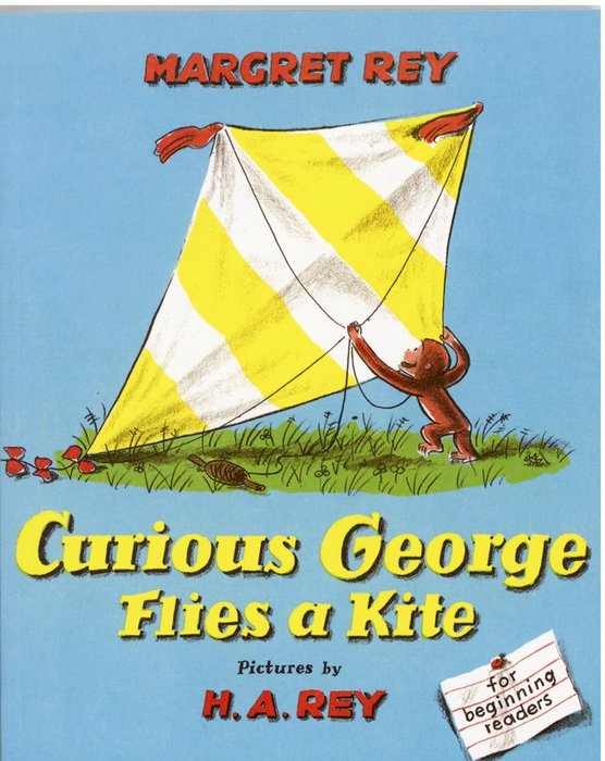 *小貝比的家*CURIOUS GEORGE FLIES A KITE/平裝3~6歲/第三階