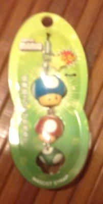 全新瑪利歐香菇吊飾