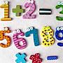 RuMa™育兒雜貨舖 ❤ 現貨 卡通木質數字&符號冰箱貼 磁鐵