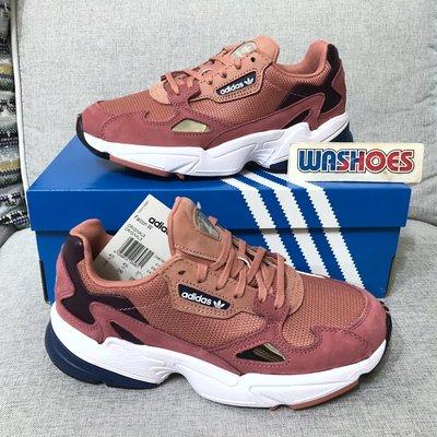 Washoes adidas Originals W Falcon D96700 玫瑰粉 女鞋 楊冪 老爹鞋 女款11