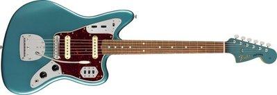大鼻子樂器 Fender Mexico 電吉他 Vintera 60's Jaguar 海洋綠色