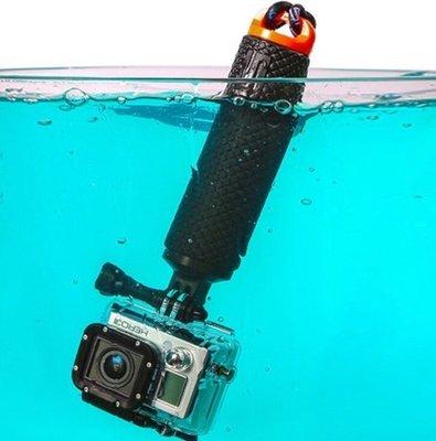 k 浮力自拍棒Go Pro Hero5/4/3+配件自拍浮力棒漂浮棒gopro4潛水自拍杆 漂浮手把