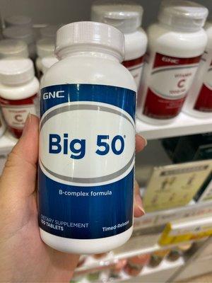 【Star】Gnc 必康 B-complex Big 100 Big100 綜合維他命B群 100顆
