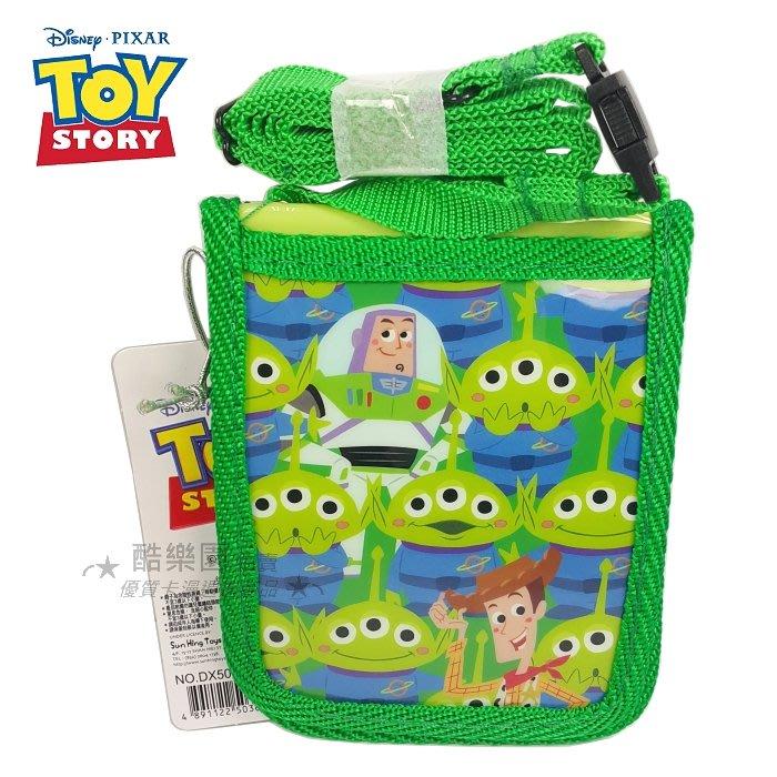 玩具總動員 多用途 識別証套 綠繩 ~ 迪士尼 三眼怪 巴斯光年 胡迪 Toy 證件套 証件套 車票夾 悠遊卡套 正版