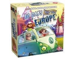 (海山桌遊城)   歐洲十日遊 10 Days in Europe 繁體中文版 正版