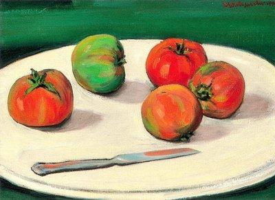何肇衢 靜物 1990 4號 油畫 (油彩、立體派、台灣、新竹、芎林、台陽、客家)