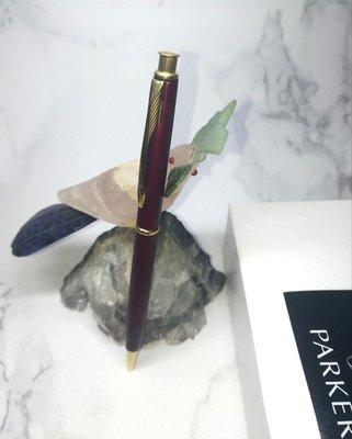 天天小舖 法製 派克 Parker 仕雅 Insignia 酒紅金夾 自動鉛筆 庫新品 正品