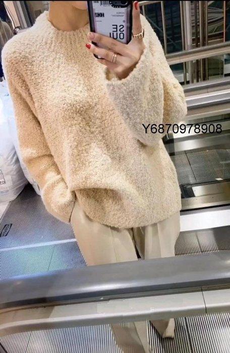 EVA精緻坊【韓國衣飾】【圓領純色寬鬆針織上衣】 預購