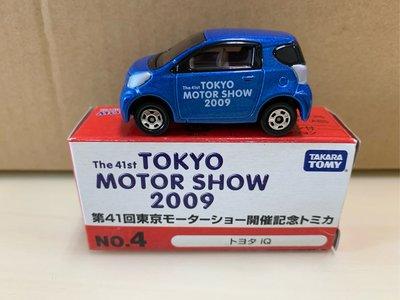 [現貨]Tomica 多美 2009 東京車展 第41回 開催紀念 No.4 Toyota iq