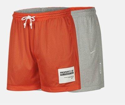 S.G NIKE STANDARD ISSUE SHORT 雙面 籃球褲 透氣 短褲 橘 CQ7996-891 黑010