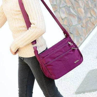 東大門平價鋪   新款斜跨帆布大包,休閒斜挎女多層多口袋包,媽咪大容量包袋