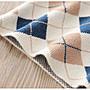 🚛NO.108童衣著【菱格毛衣】新款 女童90~140cm 圓領菱格紋寬版針織毛衣 保暖舒適菱紋縮口毛線衣