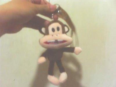 全新可愛大嘴猴吊飾