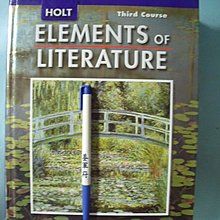 【姜軍府】《ELEMENTS of LITERATURE》英文版!HOLT Third Course 文學