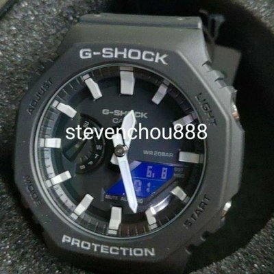全新現貨 可分期 Casio G-SHOCK GA-2100  農家橡樹 GA2100-1A 生日禮物 情人節禮物 GA21001A 類AP GA 2100