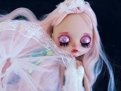 【改妝】Blythe小布 碧麗絲 手工彩繪 芭比娃娃 大頭娃娃 玩具 模型 公仔 一路向北