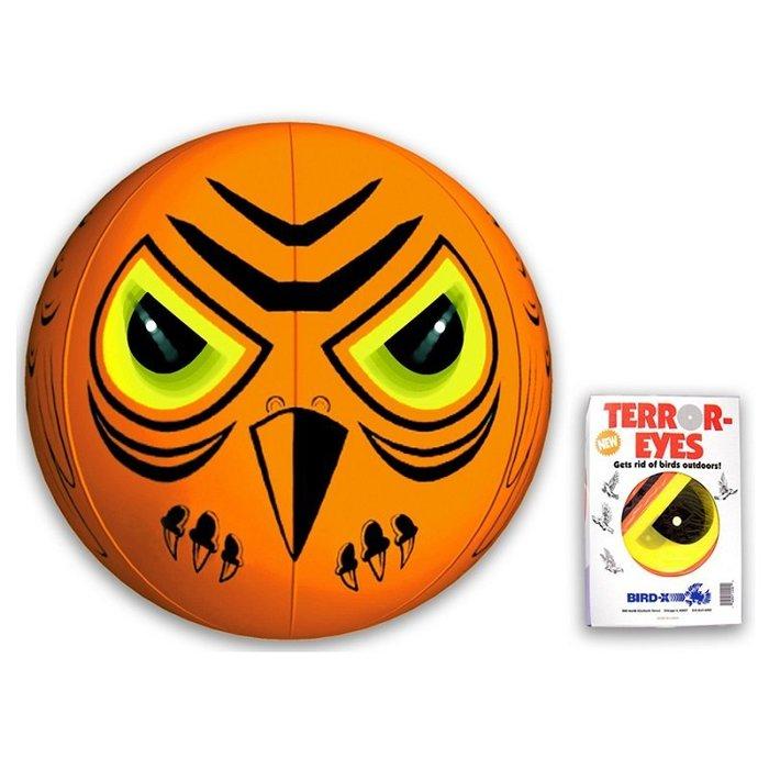 「香港商莊臣」BD0008 驚嚇眼 氣球狀 有效驅走不速之鳥-花藝園 機場 民宿 果園 皆適用