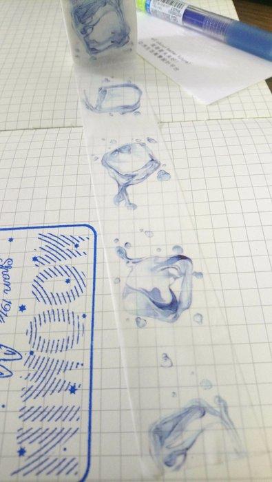 【R的雜貨舖】紙膠帶分裝 BGM 寬版 Life系列 冰塊